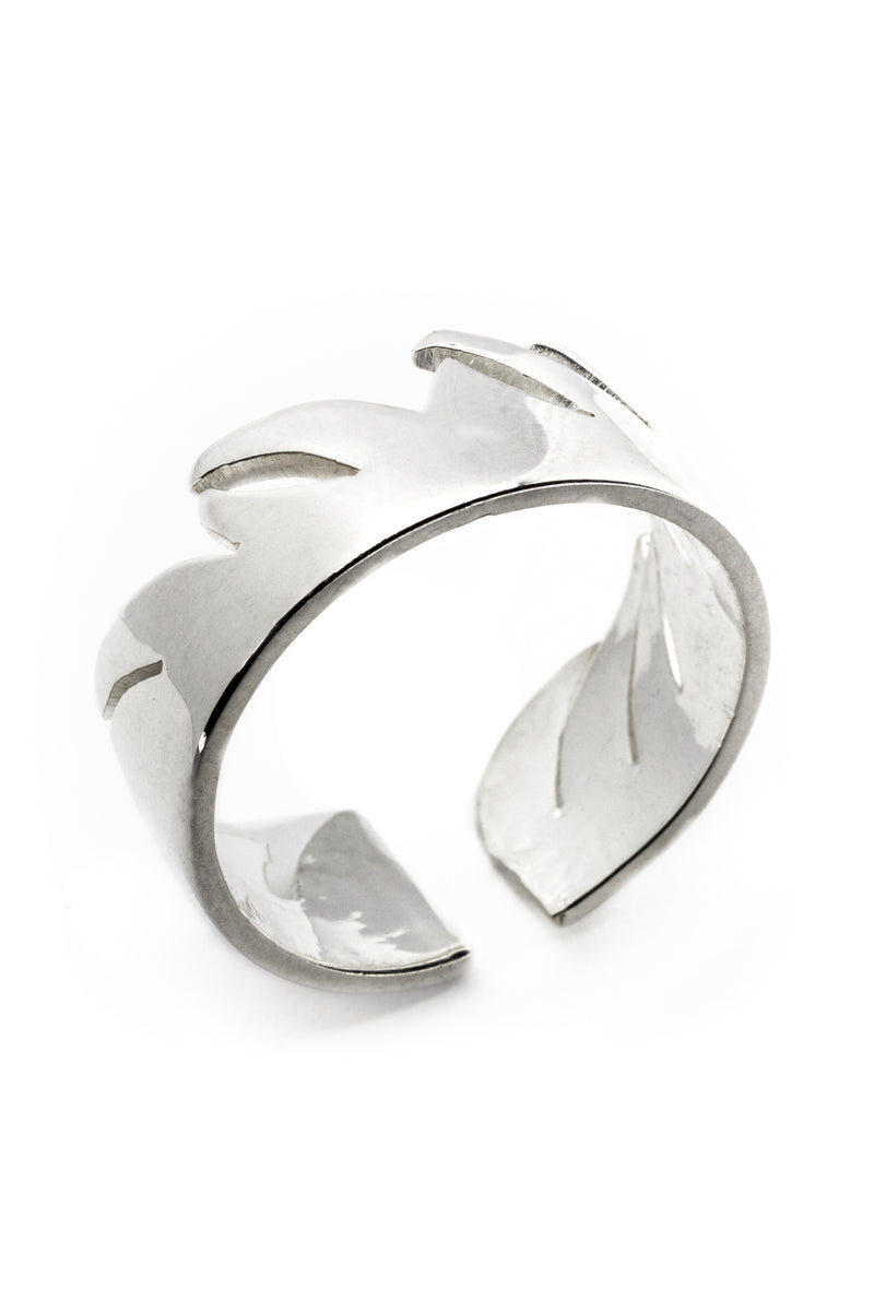 Fly Me To the Moon Ring (Silver) - Maison Orient