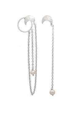 Intertwined Mismatched Earrings - Maison Orient