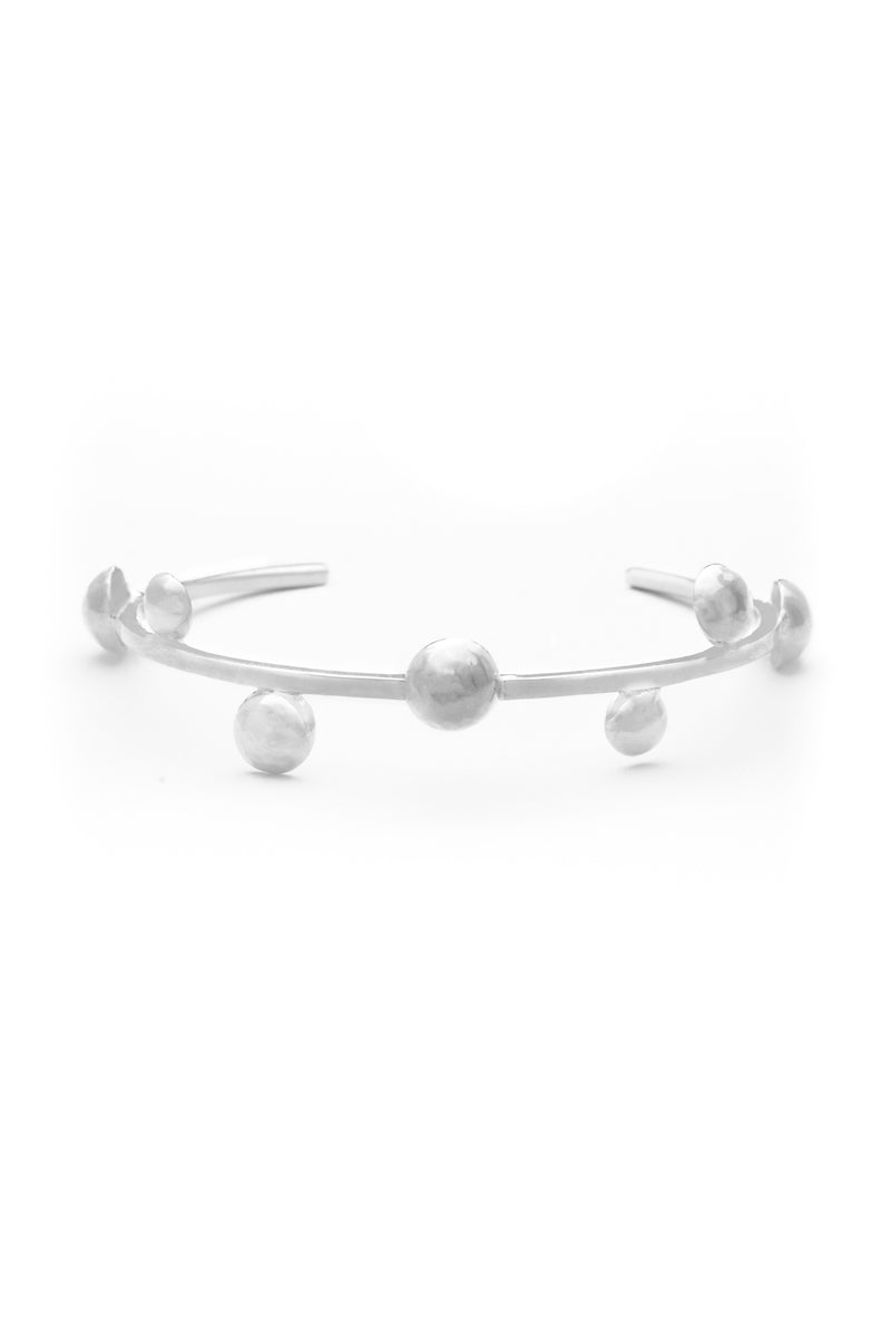 MoonChild Bangle (Silver) - Maison Orient