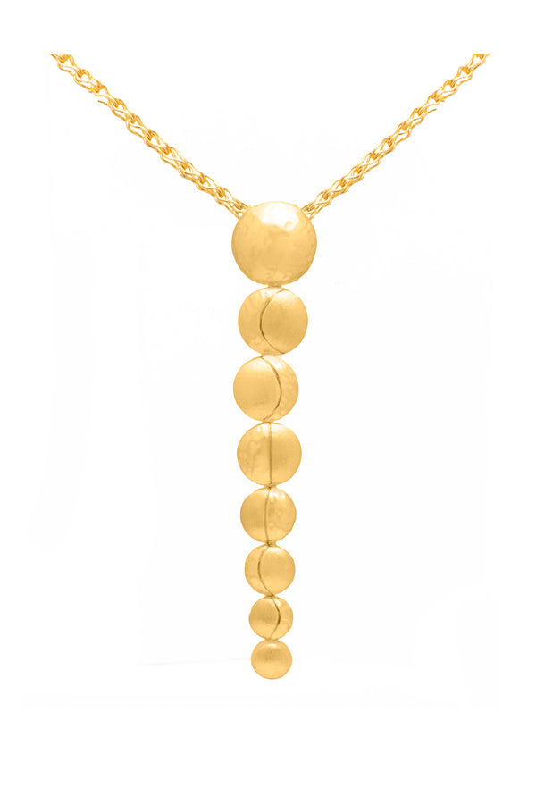 Moon Phases Necklace - Maison Orient