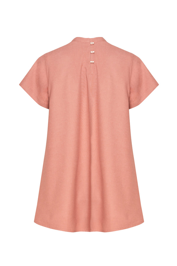 SHORT ASYMMETRIC TOP
