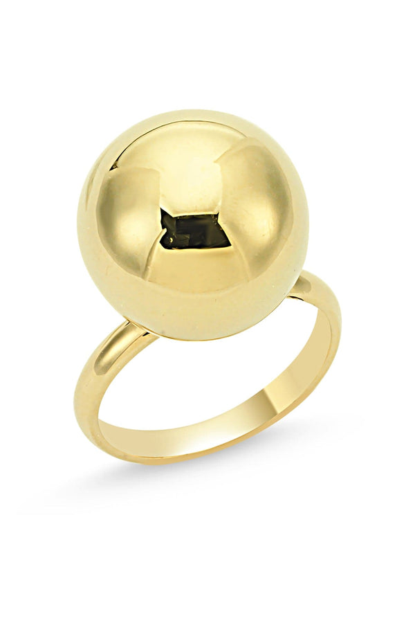 BAUBLE RING YELLOW GOLD