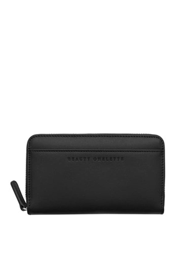 Black Zip Wallet