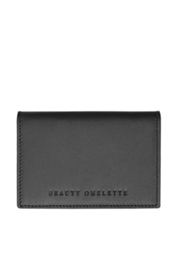 Black Cover Card Holder