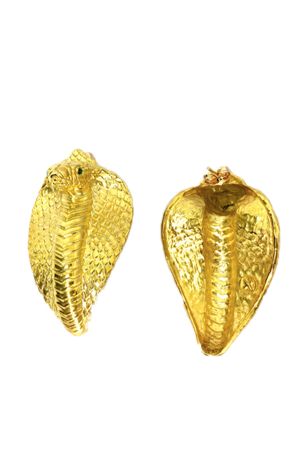 Cobra Earrings - Maison Orient