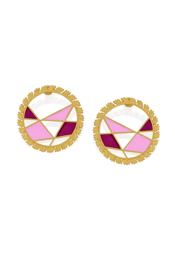 Color Block Hoops - Maison Orient