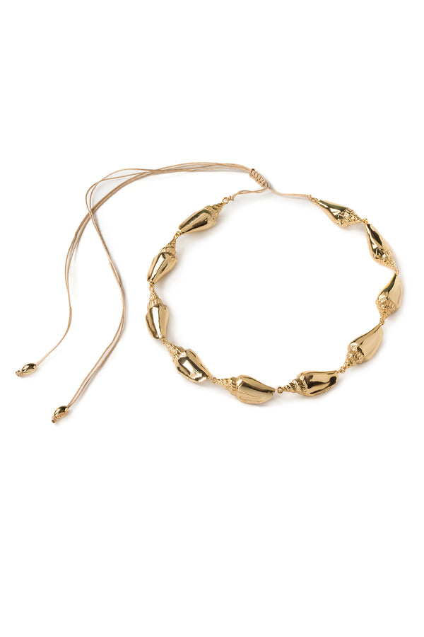 Colubra Shell Necklace - Maison Orient