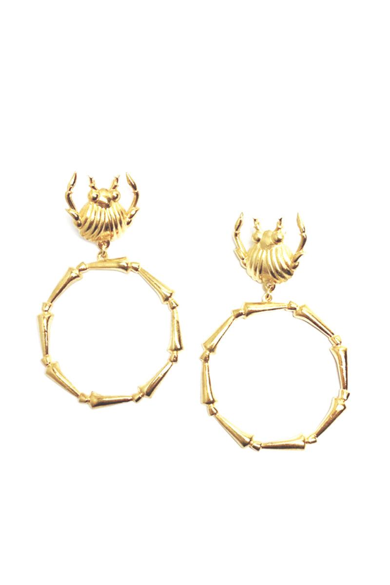 Crab Earrings - Maison Orient