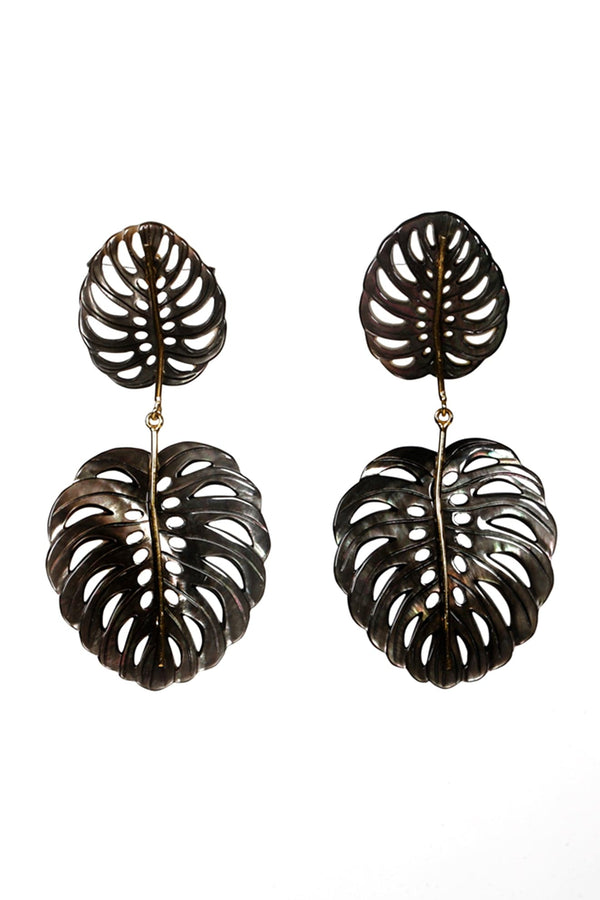 Black Mother of Pearls earrings