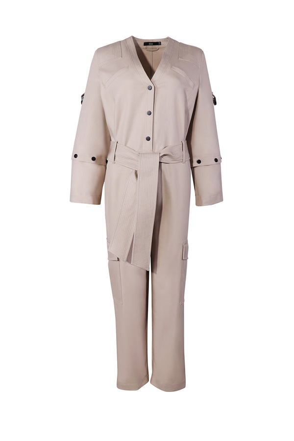 ERABLE COTTON JUMPSUIT