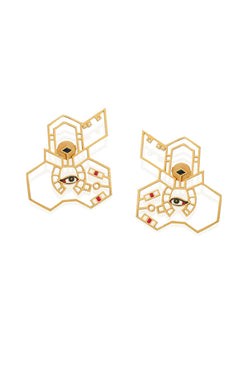 Eye Earrings - Maison Orient