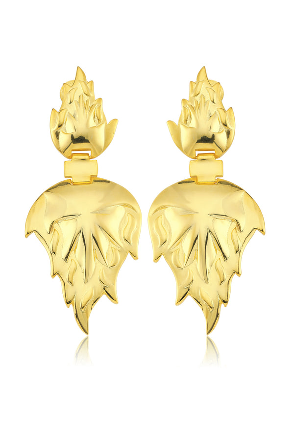 FEU EARRINGS - Maison Orient