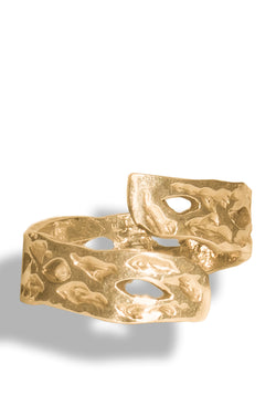 Gold 2 Nd Heartbreak Ring - Maison Orient
