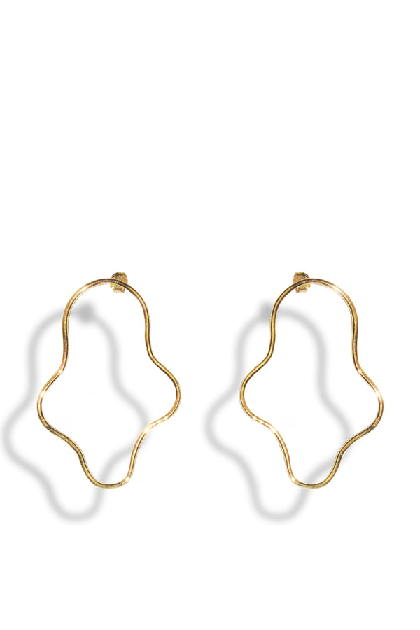 Gold Adaptation Earring - Maison Orient