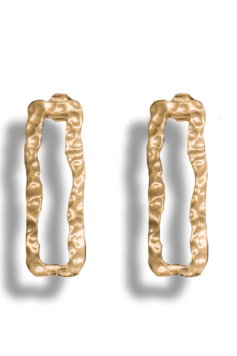 Gold Mutilation Earring - Maison Orient