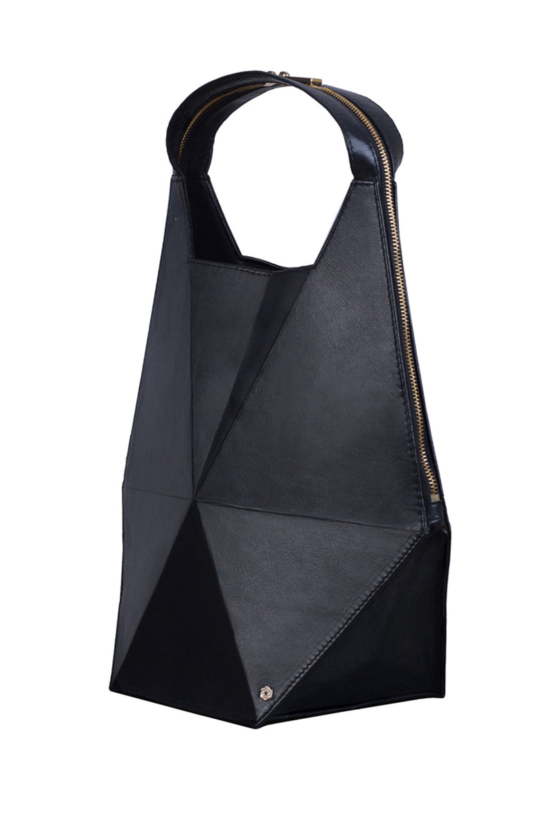 Hexella Hobo Bag Black - Maison Orient