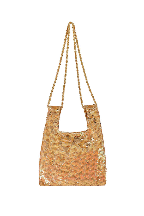 SANDRA MICRO KNOT BAG WITH CHAIN