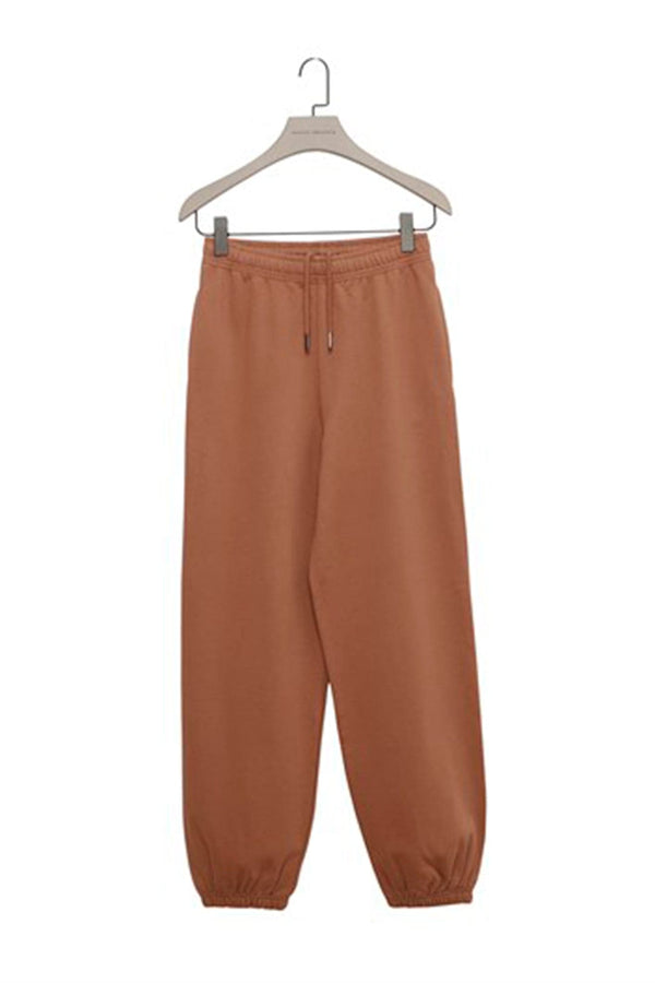 Biscuit Baggy Sweatpants with Elastic Cuffs