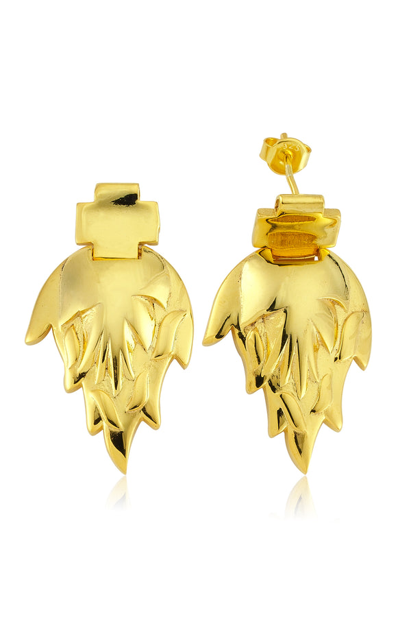 LITTLE FEU EARRINGS - Maison Orient