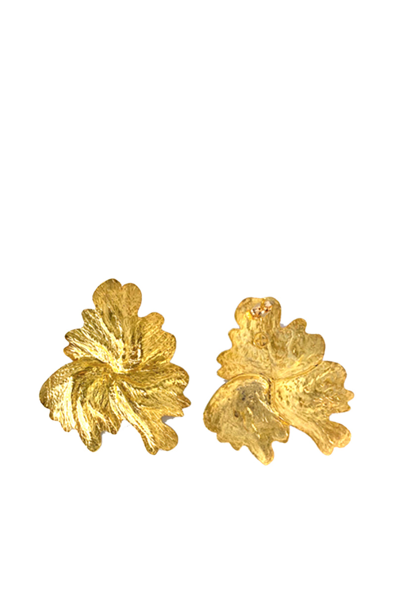 Leaf Earrings - Maison Orient