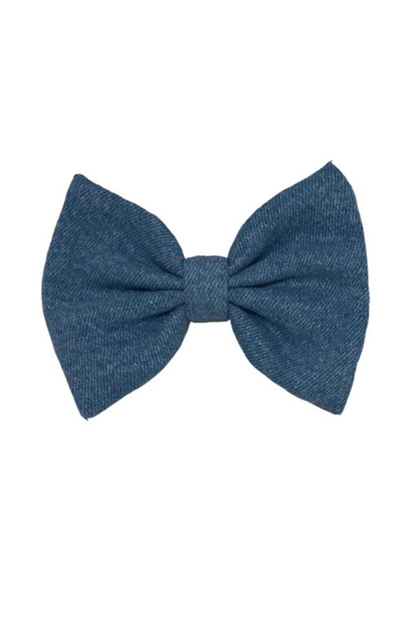Light Denim Bow - Maison Orient