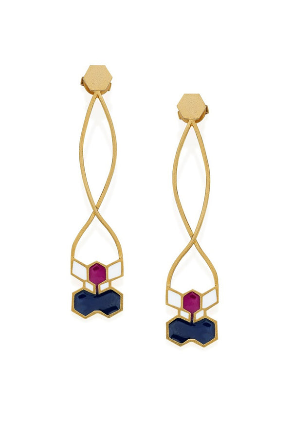 Mono Earrings - Maison Orient