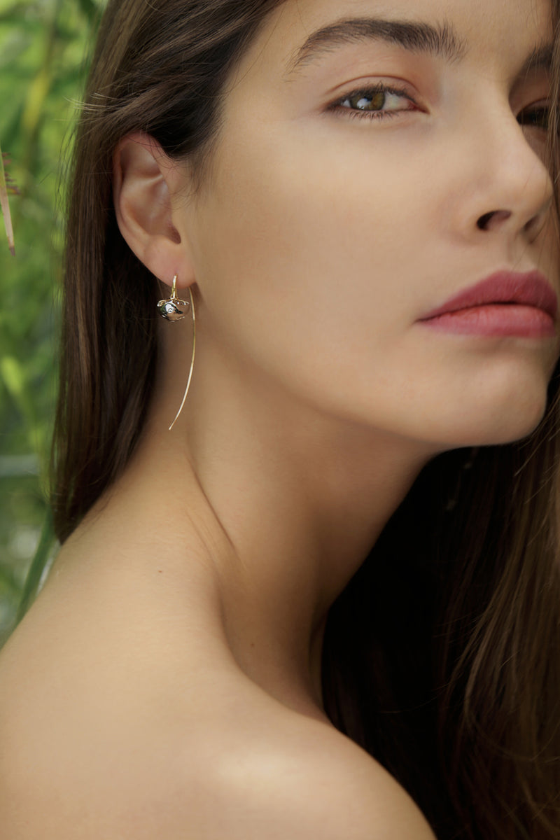 Mushroom Earrings - Maison Orient