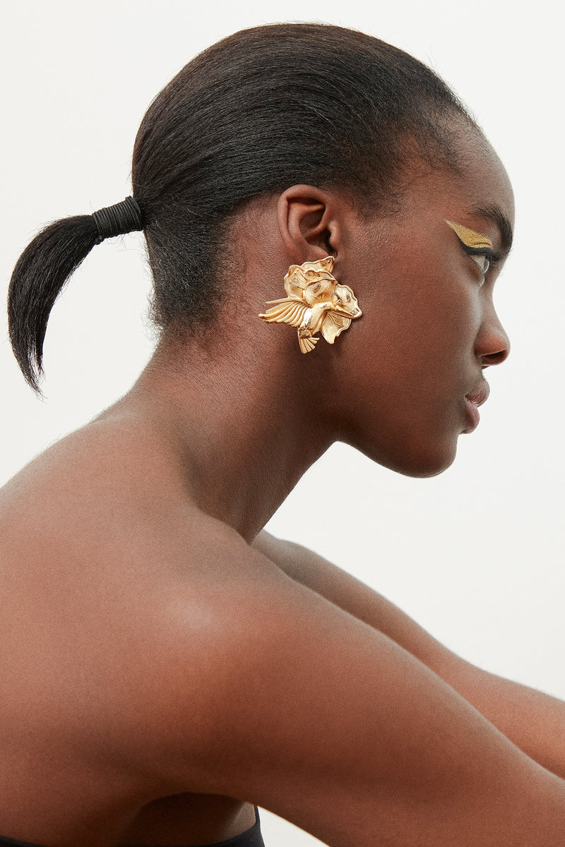 Ninon Hummingbird earrings