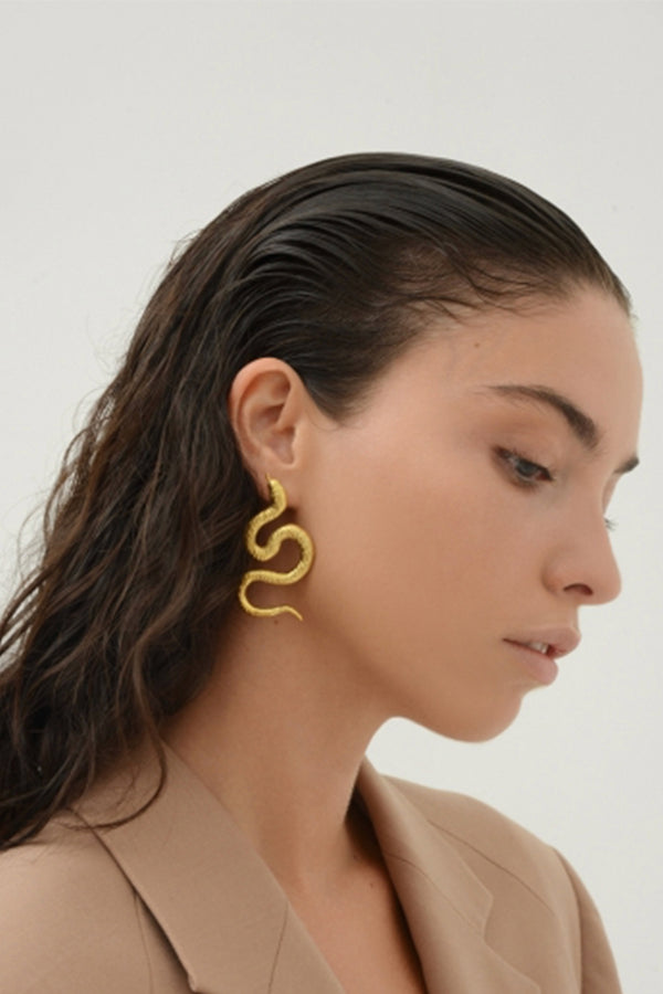 Snake Earrings Small