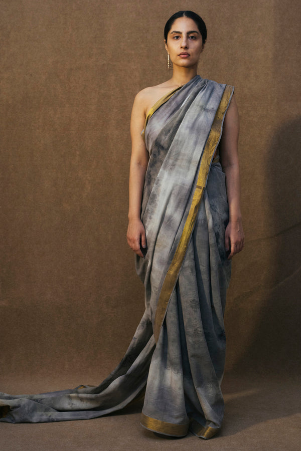 BUNDLE DYED SAREE
