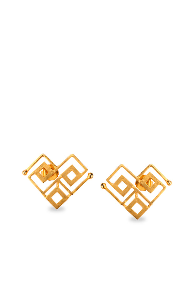 Roma Narsinghani TRIKONA EARRINGS