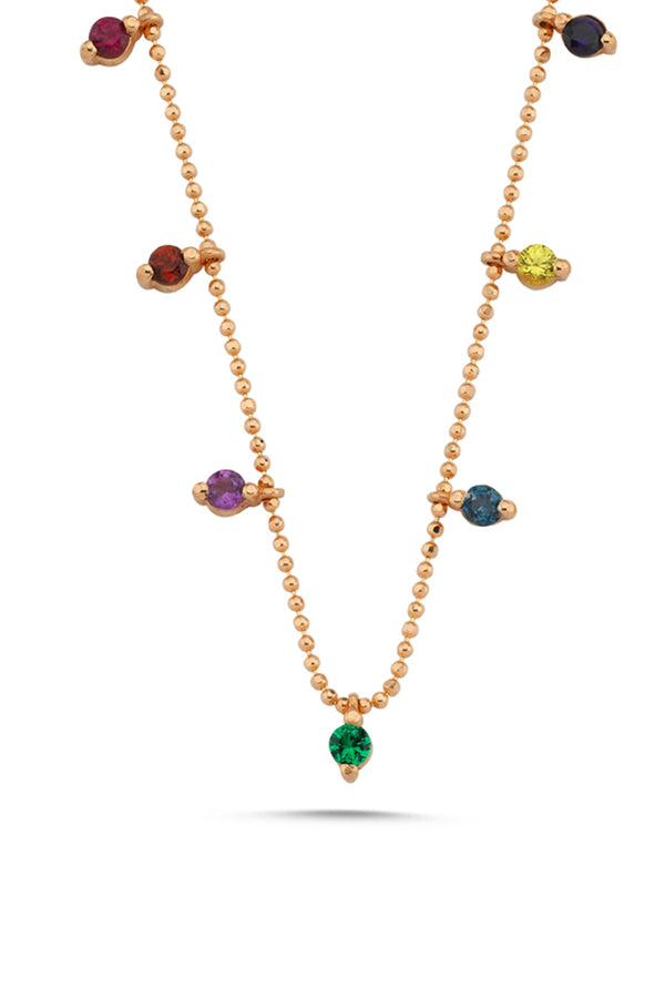 Rainbow Lolly Necklace - Maison Orient