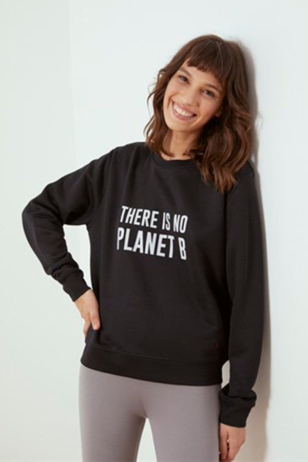 Black Planet B Sweatshirt