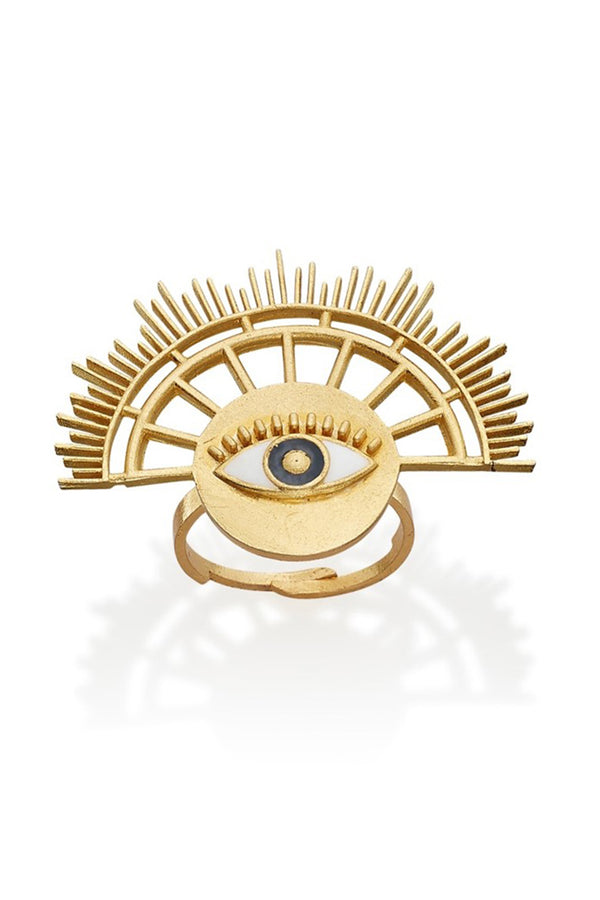Sun Eye Ring - Maison Orient