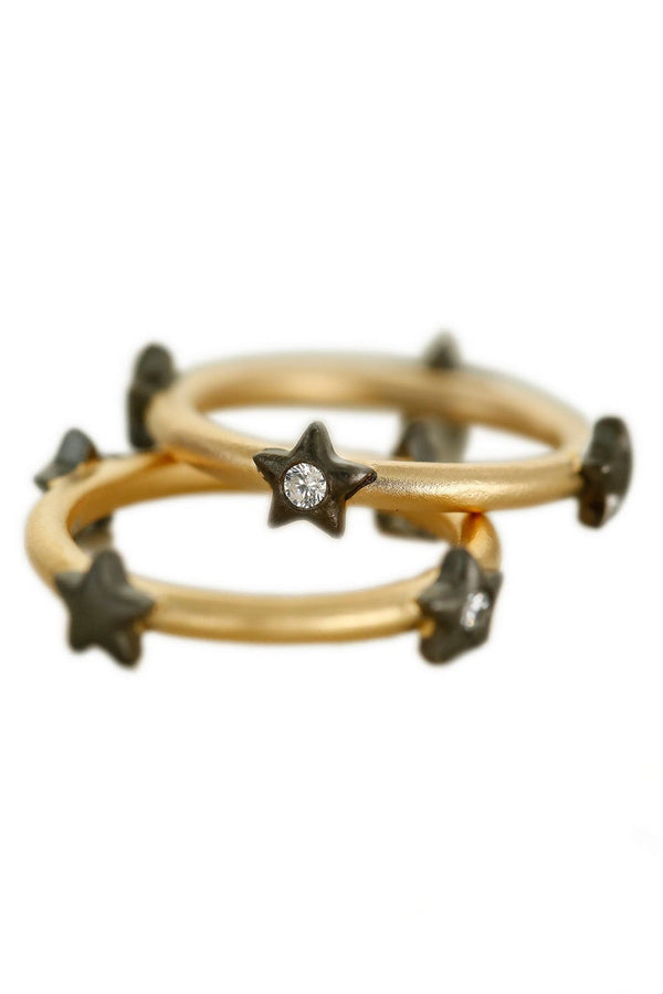 The Circle Of Stars Ring Band - Maison Orient