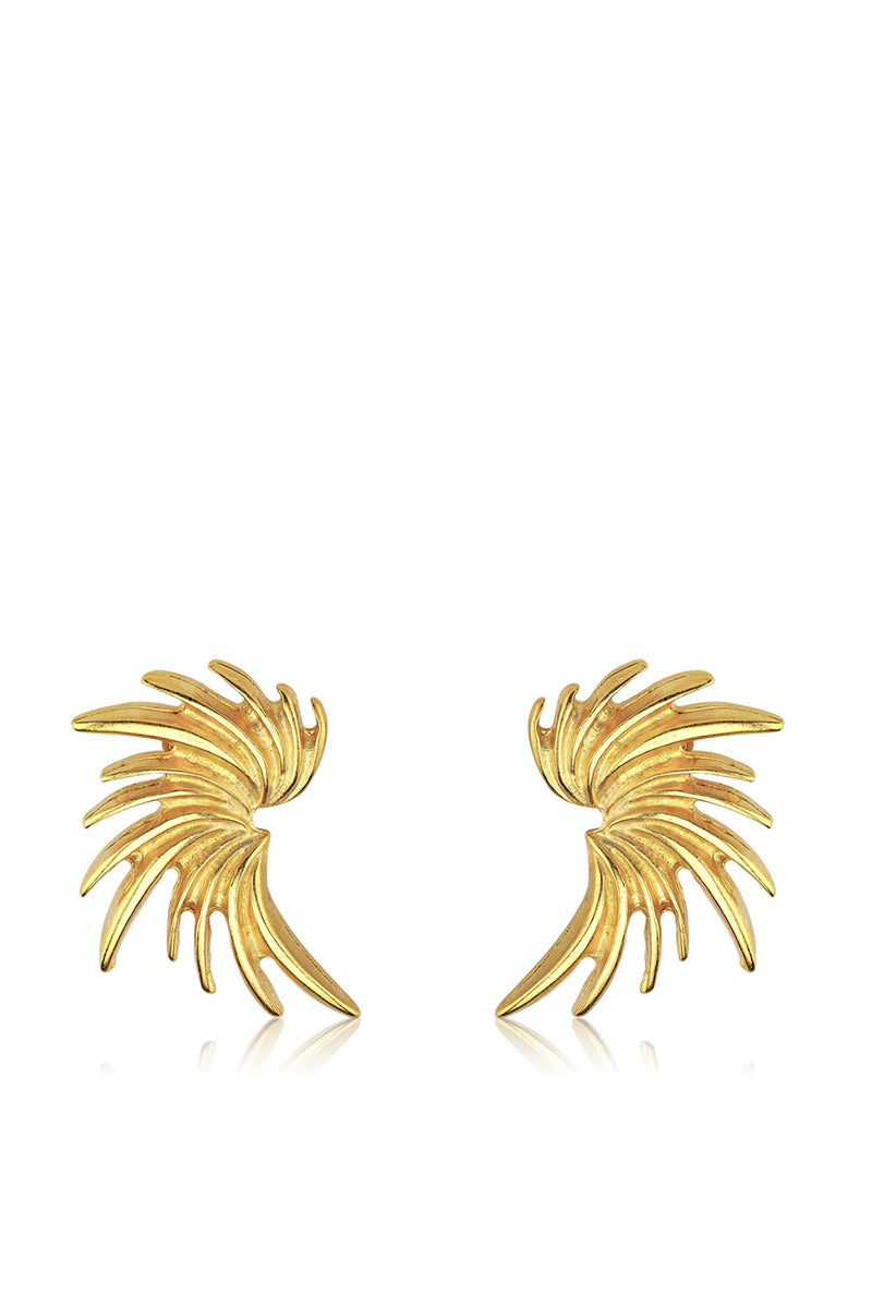 Vinge Earrings - Maison Orient