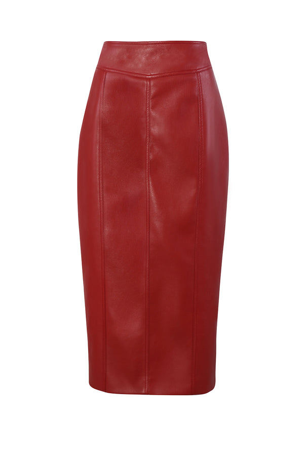 KUNG LEATHER SKIRT