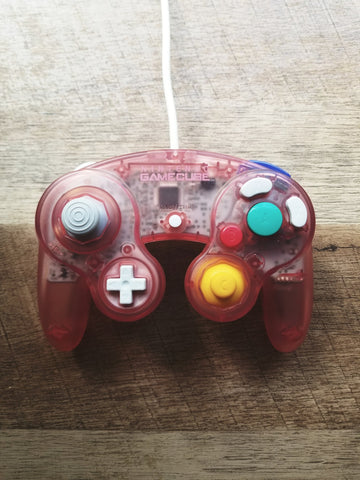 """The Clear Cherry"" with Controller Case"