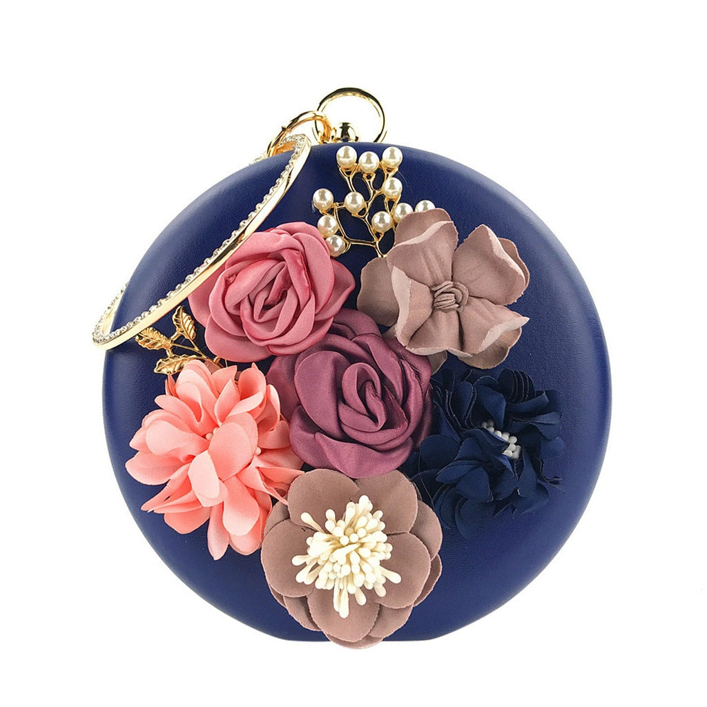 Flower Clutches Evening Bags