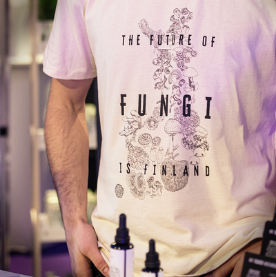 The Future of Fungi is Finland - T-shirt