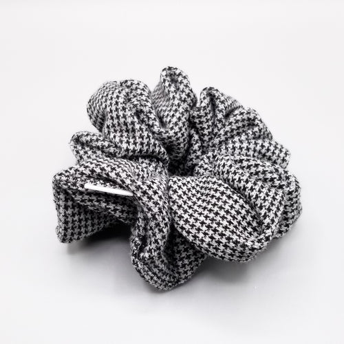 Scrunchie - Grey Hounds tooth
