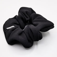 Load image into Gallery viewer, Scrunchie - Black Ribbed