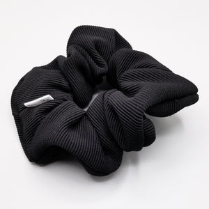 Scrunchie - Black Ribbed