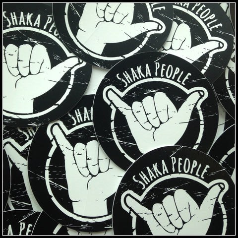 SHAKA PEOPLE STICKER PACK