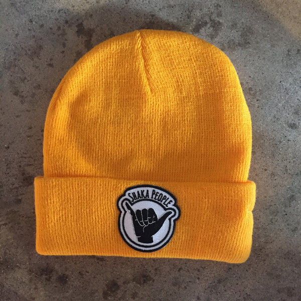 BEANIE YELLOW SP