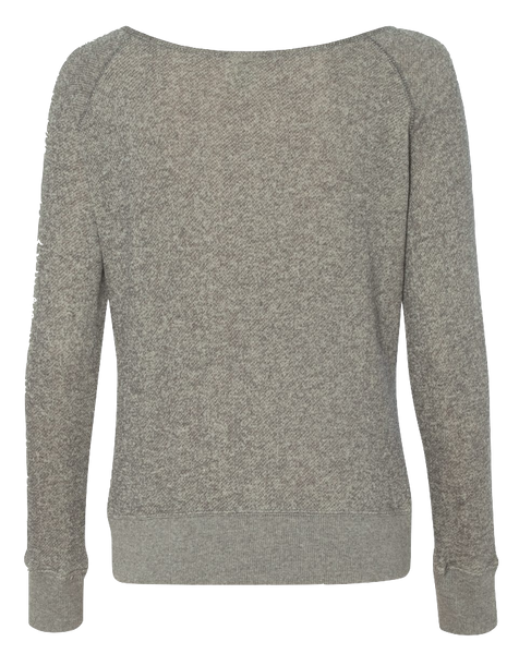 WIDE NECK RAGLAN