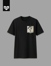 Load image into Gallery viewer, Bencab Kiss Black Pocket Tee