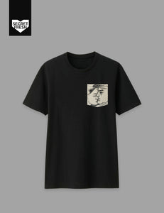 Bencab Kiss Black Pocket Tee