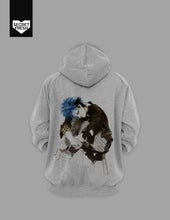 Load image into Gallery viewer, Bencab Punk Queen Gray Hoodie