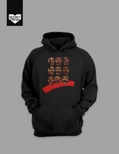 Load image into Gallery viewer, Bencab Skulls Black Hoodie